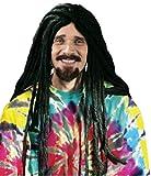 Dreadlock Wig - 30 Inch - Adult Wig ~ Rasta ~ Halloween, Black, One Size