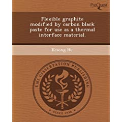 Flexible Graphite Modified by Carbon Black Paste for Use as a Thermal Interface Material. [Import] available at Amazon for Rs.5695