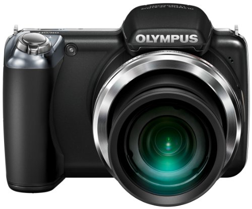 Olympus SP-810UZ Compact Digital Camera – Black