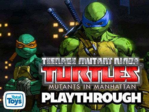 Clip: Teenage Mutant Ninja Turtles Mutants In Manhattan Playthrough on Amazon Prime Instant Video UK