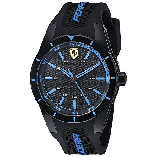 Scuderia Ferrari 0830247 Men's Red Rev Watch