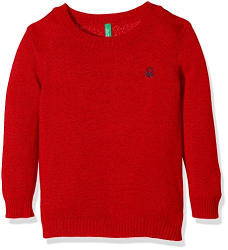 united-colors-of-benetton-jungen-pullover-1032c1319-rot-burgundy-7-8-jahre-herstellergrosse-m