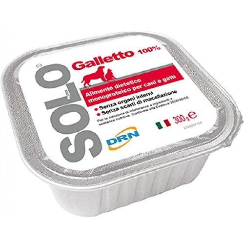 Drn Solo Galletto Cani E Gatti Alimento Umido 100g