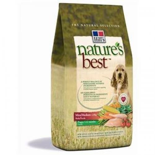 Artikelbild: Hills Natures Best Canine Puppy Mini / Medium Hundefutter 2kg, Hundefutter, Trockenfutter