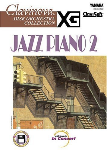 Jazz Piano 2, Intermediate [With 3.5 Disk] (Clavinova Disk Orchestra Collection)