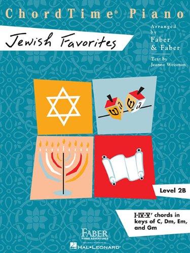 Chordtime Jewish Favorites: Level 2b (Chordtime Piano)