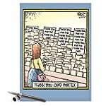 CAJ4680 Jumbo Funny Thank You Card: '...