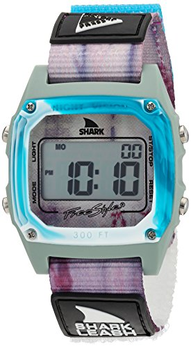 Freestyle 'Shark' Quartz Plastic and Nylon Sport Watch, Color:Blue (Model: 10027041) (Womens Shark Clip Watch compare prices)