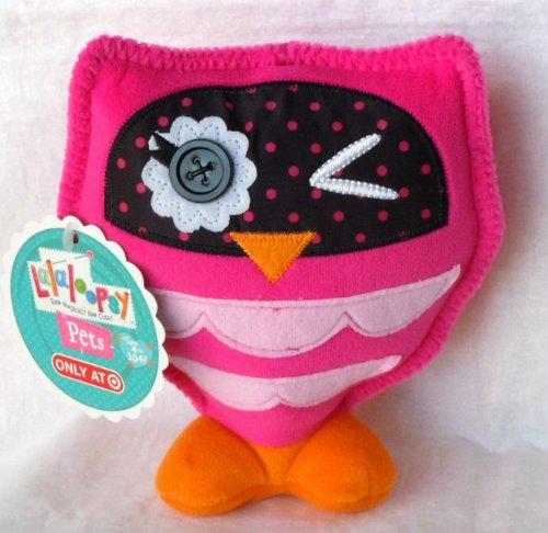 "Lalaloopsy Pets 6"" Bea Spells-a-Lot's Owl Plush Doll"