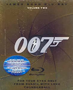 The James Bond Collection, Vol. 2 [Blu-ray]