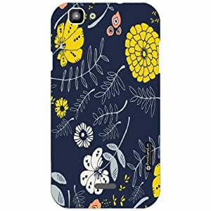 XOLO One Back Cover - Silicon Pattern Art Designer Cases