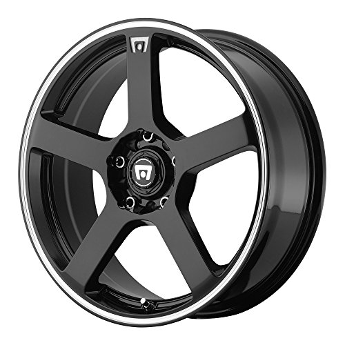 Motegi Racing MR116 Gloss Black Wheel With Machined Flange (18x8