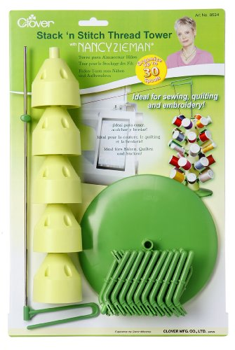 Great Features Of Clover Stack 'n Stitch Thread Tower with Nancy Zieman