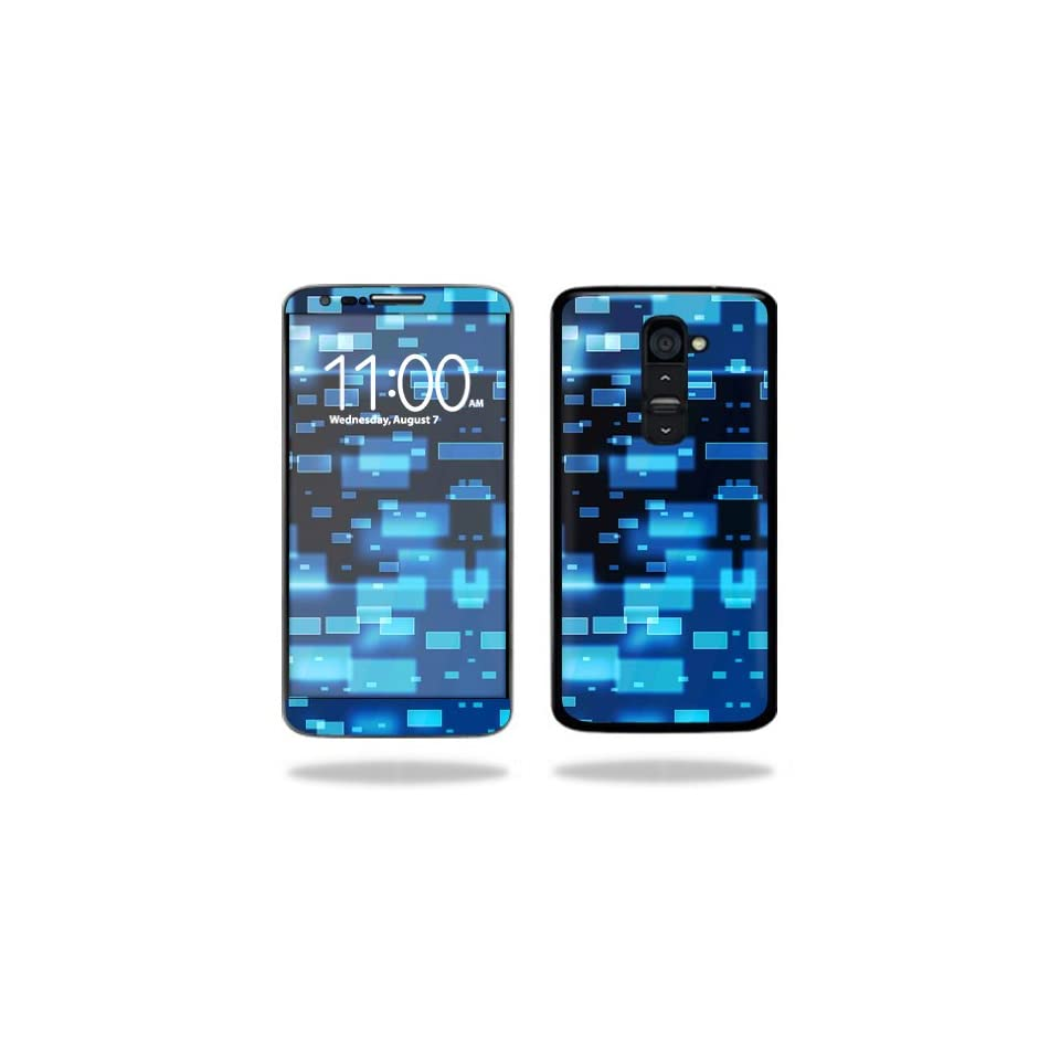 Mightyskins Protective Vinyl Skin Decal Cover for LG G2 T Mobile wrap sticker skins Space Blocks