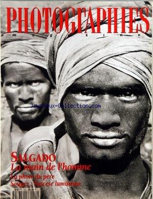 PHOTOGRAPHIES MAGAZINE [No 49] du 01/04/1995 - SALDAGO - LA MAIN DE L'HOMME - LA PHOTO DU PERE - SOUGEZ - L'ASCESE LUMINEUSE - L'ITALIE SACREE A REIMS - TUIJA LINDSTROM - SEGASTIAO SALGADO - RICHARD LONG ET PASCAL KERN - G. FEVRE