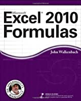 Excel 2010 Formulas ebook download