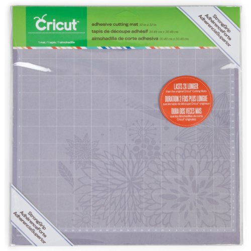 Cricut StrongGrip Adhesive Cutting Mat, 12 by 12 (Chipboard Cutting Machine compare prices)