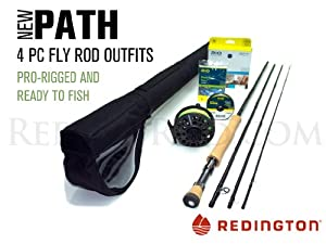 Redington Path 990-4 Saltwater Fly Rod Outfit (9