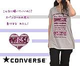 スパンコール ロゴ キラキラ プリント Tシャツ /Converse (全3色) [レディース・カジュアル・リラックス]