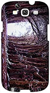 Timpax protective Armor Hard Bumper Back Case Cover. Multicolor printed on 3 Dimensional case with latest & finest graphic design art. Compatible with Samsung S3 - I9300 Galaxy S III Design No : TDZ-25256