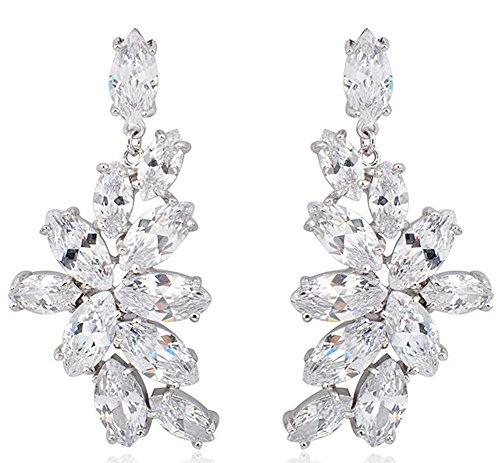 saysure-sapphire-jewelry-white-gold-crystal-leaf-earrings