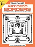 Ready-to-Use Art Deco Borders (Dover Clip Art Ready-to-Use)