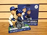 Pee Wee Reese and Roy Campanella Brooklyn Dodgers Hall of Fame Legends 2014 STADIUM PROMO Bobblehead SGA