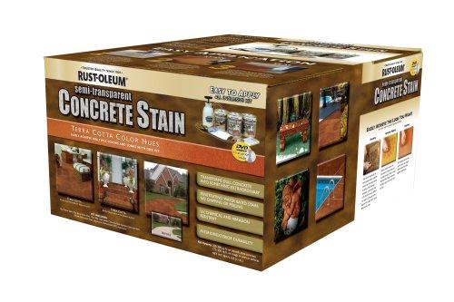 Rust-Oleum 239408A Concrete Stains Kit, Terra Cotta Color Hues