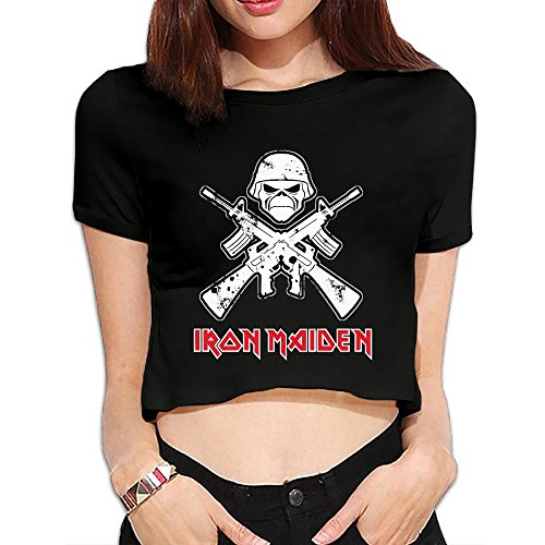 Iron Maiden Short Sleeve T Shirts Lady Morden (Iron Maiden Life After Death compare prices)
