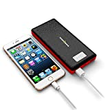 Spider Designs SD-2075 Fuel 3 20000mAh Fast Charging New Generation Portable Power bank With Display for All Smartphones - Black