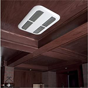 Bathroom ceiling heater solutions the stelpro sk1501w puts for Best heating options