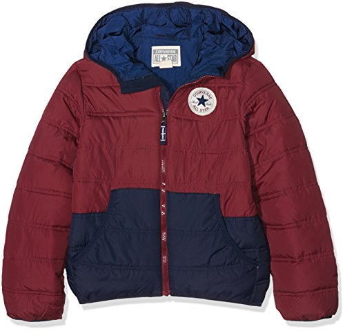 Converse Padded, Giacca Bambino, Rosso (Red Block), X-Large (Taglia Produttore: 13-15Y)