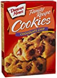 Duncan Hines Cookie Mix, Chocolate Chip, 19.85-Ounce Boxes (Pack of 6)