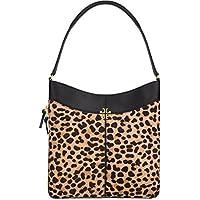 Tory Burch Ivy Hobo Handbag (Leopard)