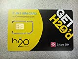 H2O Wireless Direct Dialing GSM SIM Card Starter Kit