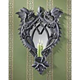 Design Toscano CL5472 Double Trouble Gothic Dragon Mirrored Wall Sculpture
