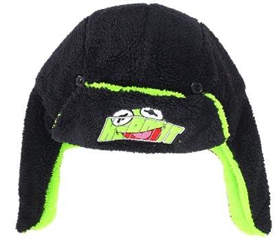 Disney Men's Muppets Kermit Reversible Trapper