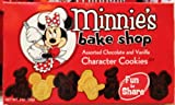 Disney Parks Minnie's Bake Shop Assorted Chocolate & Vanilla Cookies 2 ounces