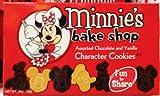 Disney Parks Minnie's Bake Shop Assorted Chocolate & Vanilla Cookies 2 ounces