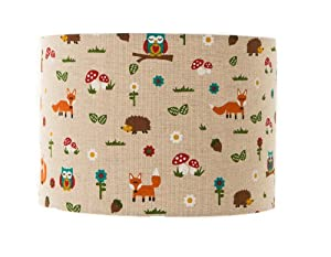 """Woodland Freinds Lampshade / Ceiling Light 8"""" from delight"""
