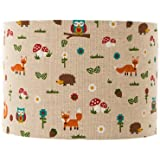 Woodland Freinds Lampshade / Ceiling Light 8""