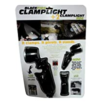 BLACKFIRE CLAMPLIGHT +2 CLAMPLIGHT MINI LED FLASHLIGHTS