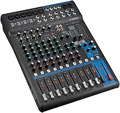 Yamaha MG12XU 12 In PA Mixer & USB Audio Interface - New by Yamaha