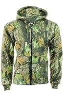 Authentic StormKloth Camouflage Country Camo Zipper Hoodie ZIp Top