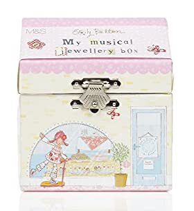 Emily Button Musical Jewellery Box
