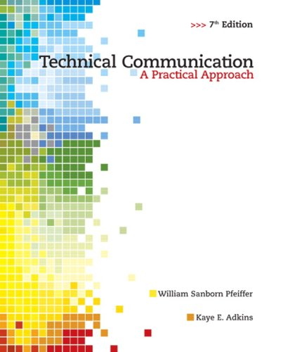 technical communication a reader centered approach pdf epub