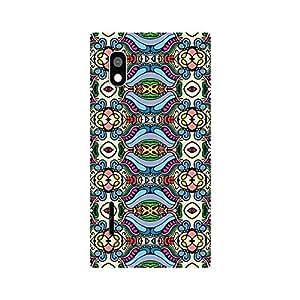 Garmor Designer Plastic Back Cover For LG L90 D405