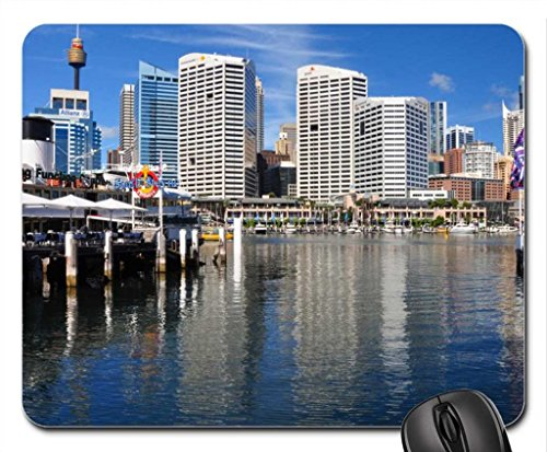 OH WHAT A BEAUTIFUL DAY Mouse Pad, Mousepad (Skyscrapers Mouse Pad)