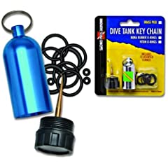 Buy Scuba Diving Tank O-Ring Keychain, (Made by Innovative Scuba) by Innovative Scuba Concepts