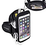 Avantree Avantree TR801 Sports Running / Gym / Jogging Exercise Neoprene Armband Case Pouch for Samsung S5 / Note 3 - Black